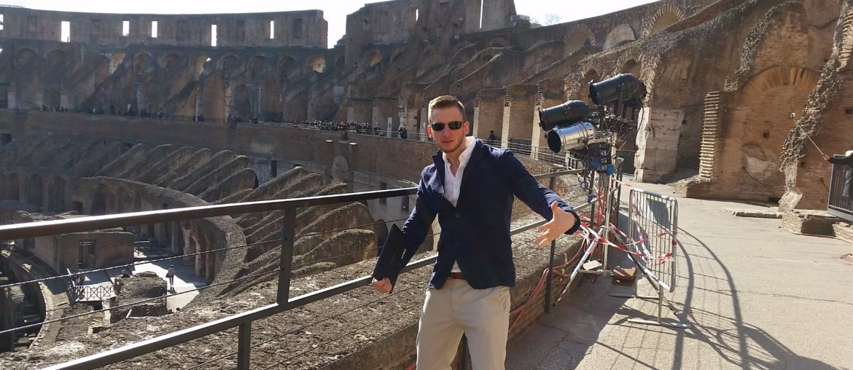 Ich im Colosseum