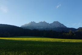 Gebirge Wilder Kaiser