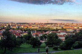 Prag Sonnenuntergang